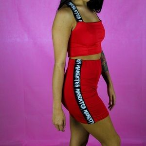 Dresses & Skirts - Man eater two piece set